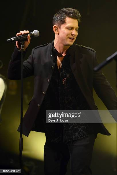 Ross William Wild of Spandau Ballet performs on stage at Eventim Apollo on October 29, 2018 in London, England.