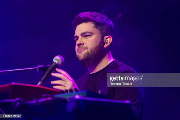Ross Wilson of Tide Lines performs on stage at Assembly Rooms as part of the Burns and Beyond festival on January 24 2020 in Edinburgh Scotland