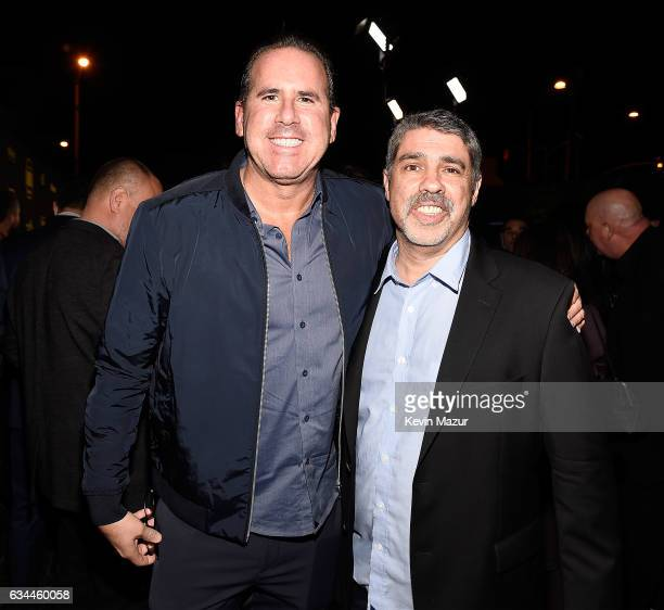 Ross Zapin and Gary Dell'Abate attend Citi Presents 2017 Billboard Power 100 Celebration at Cecconi's Restaurant on February 9 2017 in Los Angeles...