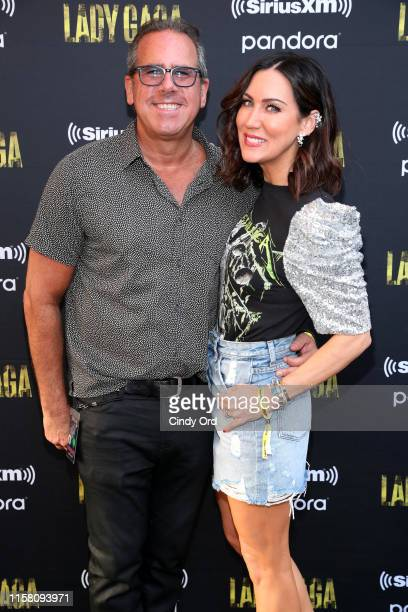 Ross Zapin and Melissa Short attend SiriusXM Pandora Present Lady Gaga At The Apollo on June 24 2019 in New York City