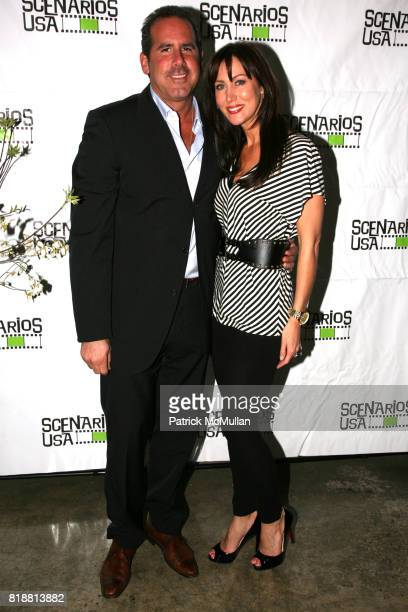 Ross Zapin and Melissa Zapin attend SCENARIOS USA 2010 Awards and Gala at Tribeca Rooftop on April 27 2010 in New York