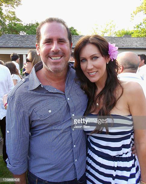 Ross Zapin and Melissa Zapin out and about circa 2011 in New York City