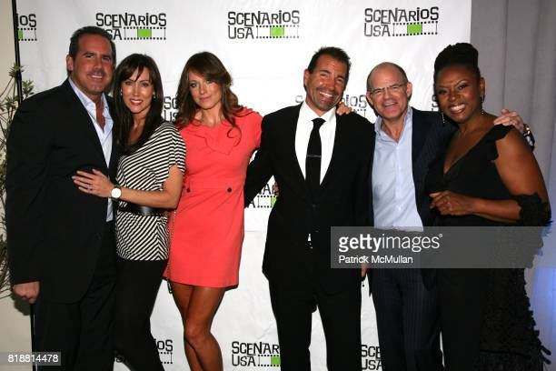 Ross Zapin Melissa Zapin Jane Notar Richie Notar Scott Greenstein and Robin Quivers attend SCENARIOS USA 2010 Awards and Gala at Tribeca Rooftop on...