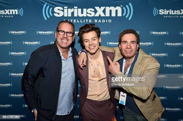 Ross Zapin SiriusXM Senior Vice President of Promotions Event Marketing and Talent Relations musician Harry Styles and SiriusXM Vice President of...