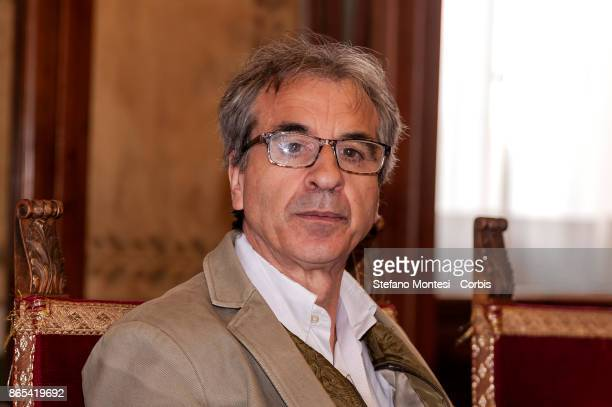 Rossano Ercolini Chairman of Zero Waste Italy and Zero Waste Europe during meet in Campidoglio for the 'Zero Waste' objective with the International...