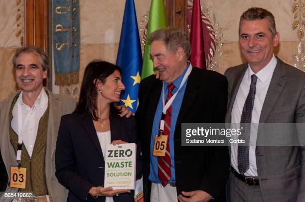 Rossano Ercolini Chairman of Zero Waste Italy and Zero Waste EuropeVirginia Raggi Mayor of Rome Paul Connet Emeritus Professor of Chemistry at Saint...