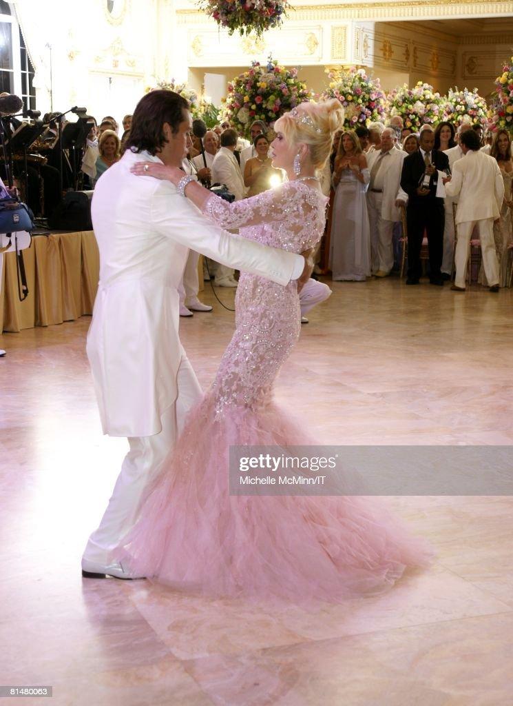Ivana Trump And Rossano Rubicondi Wedding At Maralago Photos And - Ivanka Wedding Cake