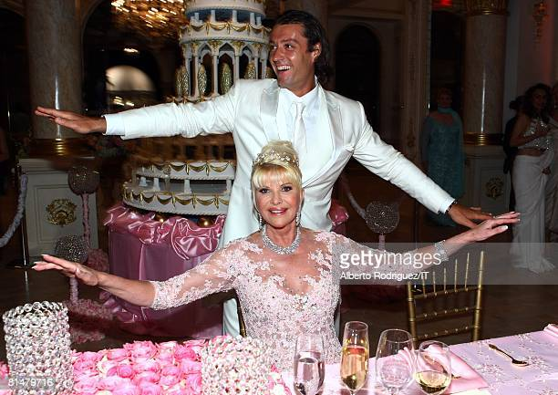 RATES Rossano Rubicondi and Ivana Trump dance during the reception for the wedding of Ivana Trump and Rossano Rubicondi at the MaraLago Club on April...
