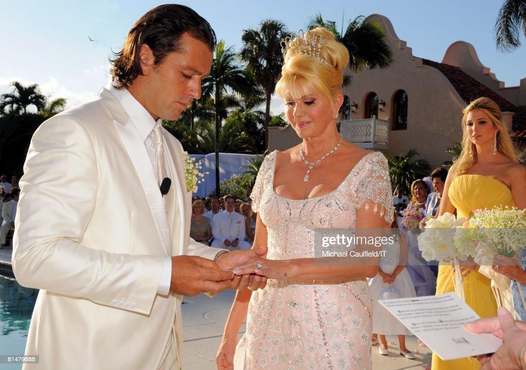 Rossano Rubicondi, Ivana Trump And Ivanka Trump During The