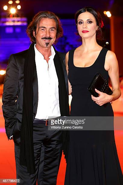 Rossella Brescia and Luciano Cannito attend the 'Haider' Red Carpet during the 9th Rome Film Festival on October 24 2014 in Rome Italy