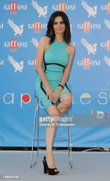 Rossella Brescia attends 2012 Giffoni Film Festival Photocall on July 18 2012 in Giffoni Valle Piana Italy