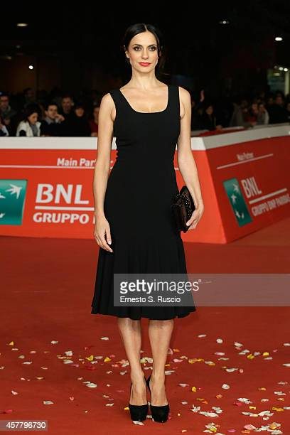 Rossella Brescia attends the 'Haider' Red Carpet during the 9th Rome Film Festival on October 24 2014 in Rome Italy