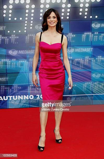 Rossella Brescia attends the Mediaset Night TV Programming Presentation on June 30 2010 in Milan Italy