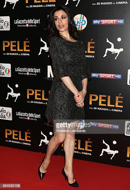Rossella Brescia attends the 'Pele' Red Carpet In Milan on May 26 2016 in Milan Italy