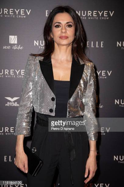Rossella Brescia attends the photocall of the movie Nureyev The White Crow at the Cinema Colosseo on May 26 2019 in Milan Italy