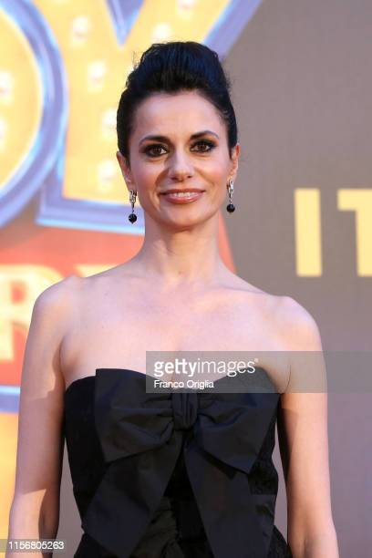 Rossella Brescia attends the Toy Story 4 red carpet at Teatro 8 on June 18 2019 in Rome Italy