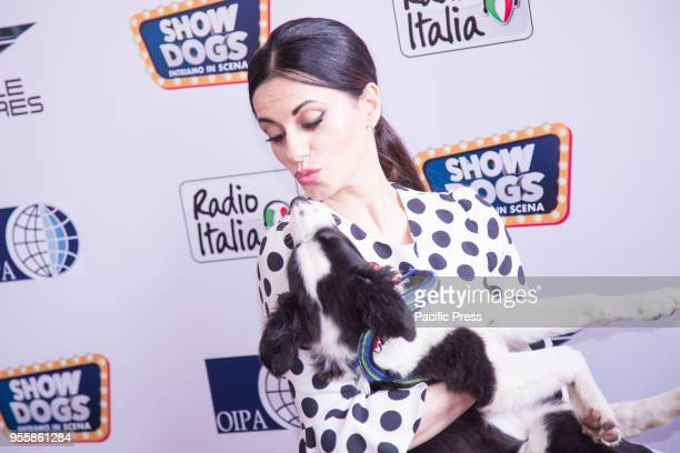 Rossella Brescia during the red carpet of the World Preview of the film Show Dogs We enter the scene at the Cinema The Modern Space