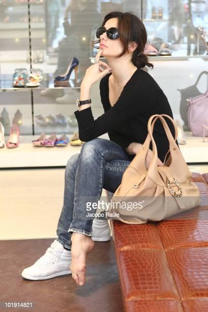 Rossella Brescia is seen on June 8 2010 in Milan Italy