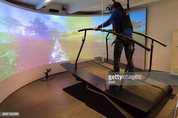 Rossetti health center France rehabilitation center with cuttingedge technology The GRAIL Gait Realtime Analysis Interactive Lab is a complete...