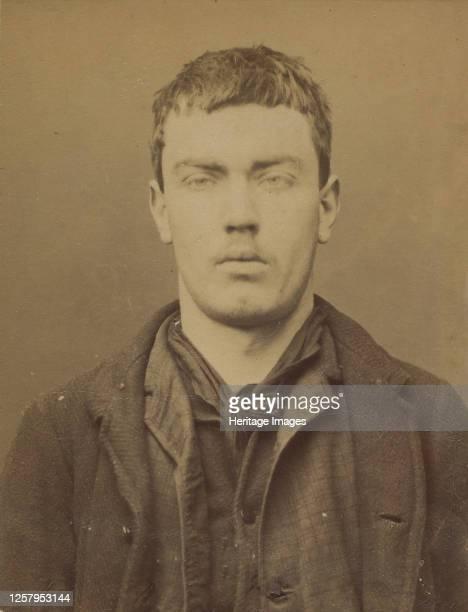 Rossi. Guillaume. 20 ans, n� le 8/3/71 � Biel . Serrurier. Vagabondage. 15/1/95, 1895. Artist Alphonse Bertillon.