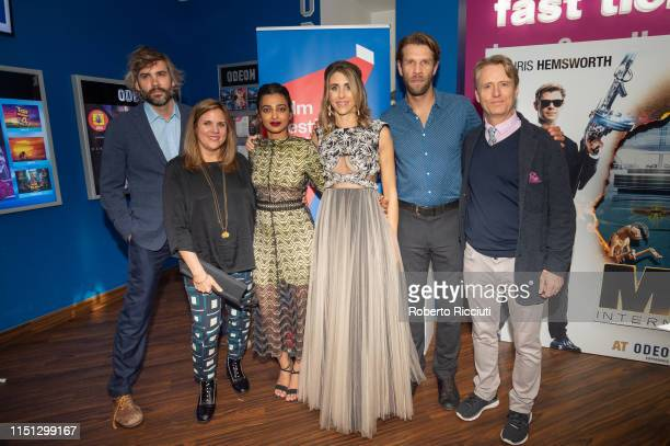 Rossif Sutherland Lydia Dean Pilcher Radhika Apte Sarah Megan Thomas Marc Rissmann and Linus Roche attend a photocall for the World Premiere of...