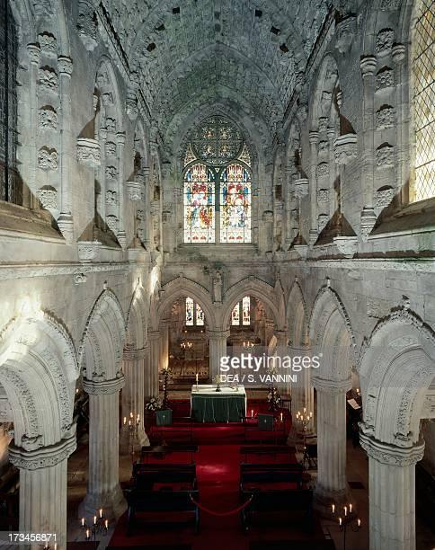 Rosslyn Chapel Choir Roslin Scotland United Kingdom