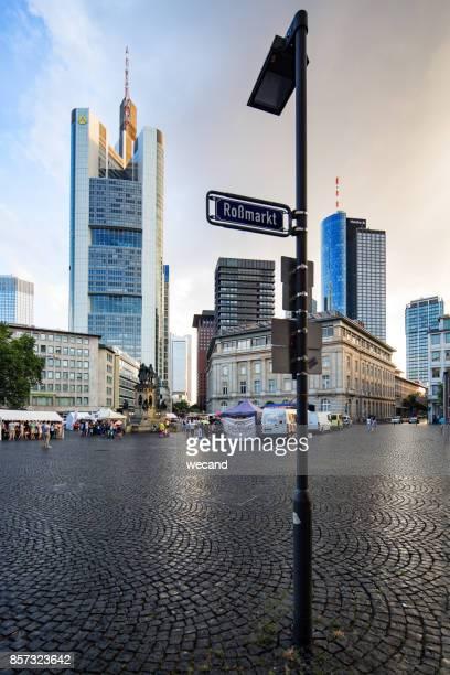 Rossmarkt, Frankfurt