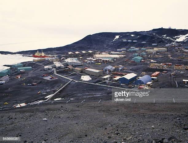 Forschungsstation der USA McMurdo Satation 1999forschung forschungseinrichtung station polarforschungpolarforschungsstation