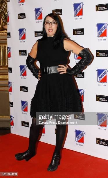Rossy de Palma attend the Ron Brugal Awards on October 21 2009 in Madrid Spain
