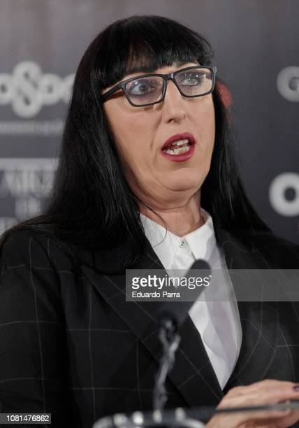Rossy de Palma attends 33rd Edition Goya Candidates Lecture at Academia de Cine on December 12 2018 in Madrid Spain