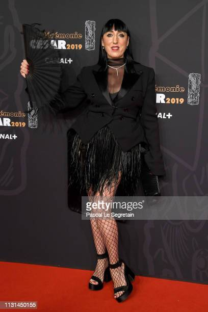 Rossy de Palma attends Cesar Film Awards 2019 at Salle Pleyel on February 22 2019 in Paris France