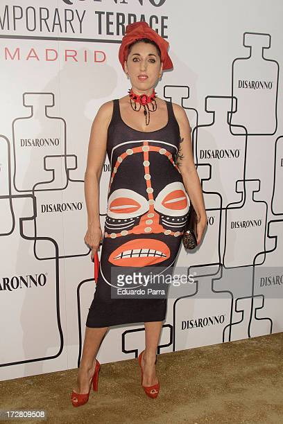 Rossy de Palma attends 'Contemporary Terrace by Disaronno' party photocall at Atenas Terrace on July 4 2013 in Madrid Spain