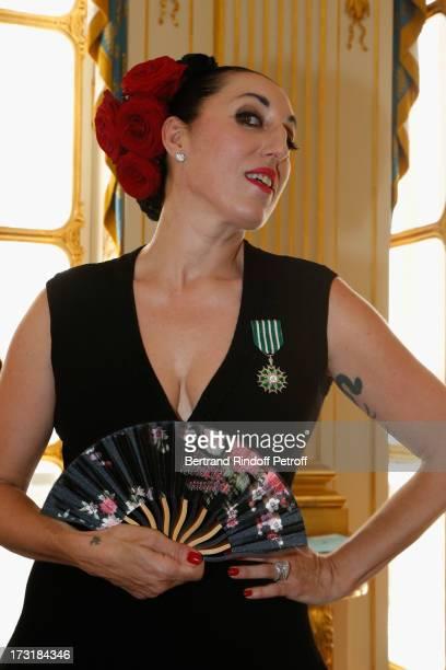 Rossy De Palma attends her 'Arts et des Lettres' decoration at Ministere de la Culture on July 9 2013 in Paris France