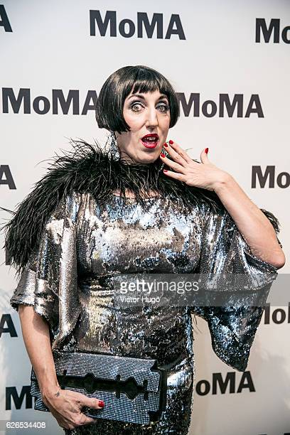 Rossy De Palma attends Pedro Almodovar Film Retrospective Opening Night at The Museum of Modern Art on November 29 2016 in New York City