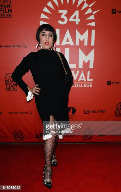 Rossy de Palma attends the Miami Film Festival on March 4 2017 in Miami Florida