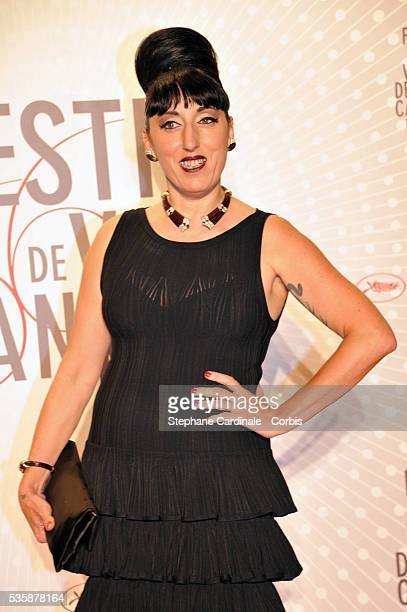 Rossy de Palma attends the 'Palme D'Or Winners dinner' during the 66th Cannes International Film Festival