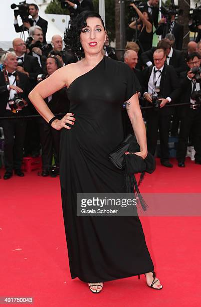 Rossy de Palma attends the Saint Laurent premiere during the 67th Annual Cannes Film Festival on May 17 2014 in Cannes France