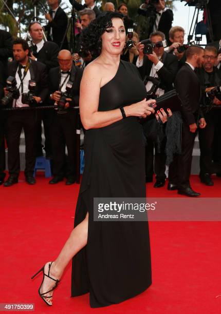 Rossy de Palma attends the 'Saint Laurent' premiere during the 67th Annual Cannes Film Festival on May 17 2014 in Cannes France