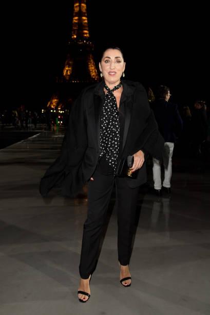 FRA: Saint Laurent : Front Row -  Paris Fashion Week - Womenswear Spring Summer 2022