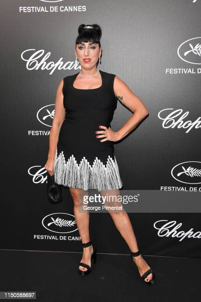 Rossy de Palma attends the The Chopard Trophy event during the 72nd annual Cannes Film Festival on May 20 2019 in Cannes France