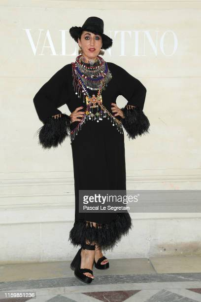 Rossy de Palma attends the Valentino Haute Couture Fall/Winter 2019 2020 show as part of Paris Fashion Week on July 03 2019 in Paris France