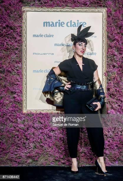 Rossy de Palma attends the XV Marie Claire Prix de la Moda Awards at Florida Retiro on November 7 2017 in Madrid Spain