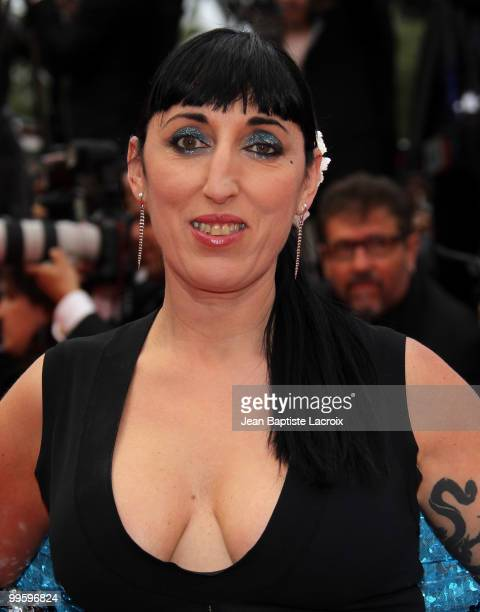Rossy De Palma attends the 'You Will Meet A Tall Dark Stranger' Premiere held at the Palais des Festivals during the 63rd Annual International Cannes...