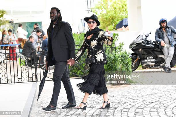Rossy de Palma is seen during the 72nd annual Cannes Film Festival at on May 19 2019 in Cannes France
