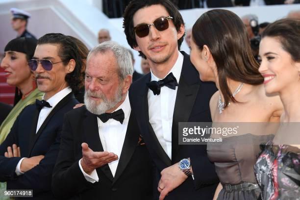Rossy de Palma Oscar Jaenada director Terry Gilliam Adam Driver Olga Kurylenko and Joana Ribeiro attend the Closing Ceremony screening of 'The Man...