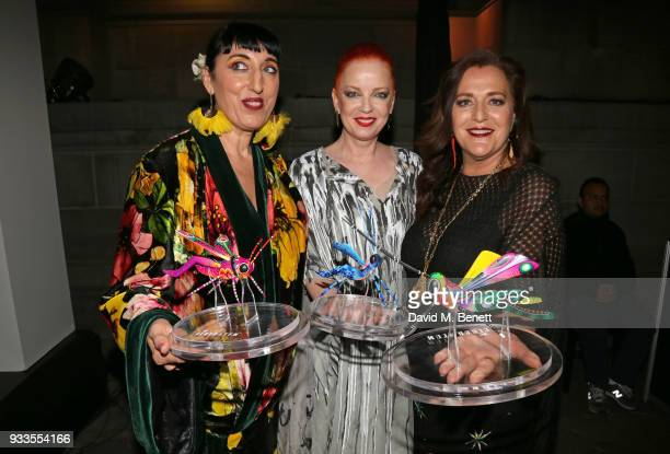 Rossy de Palma Shirley Manson and Angela Missoni attend the Liberatum Mexico Festival 2018 Gala Dinner and Liberatum Cultural Honour Awards at the...