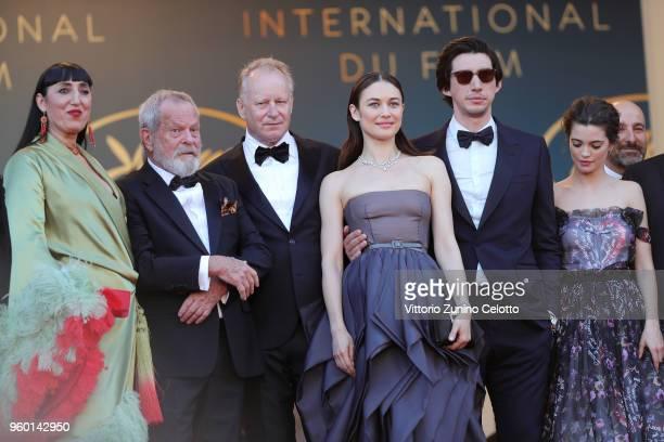 Rossy de Palma Terry Gilliam Stellan Skarsgard Olga Kurylenko Adam Driver and Joana Ribeiro attend the Closing Ceremony screening of 'The Man Who...