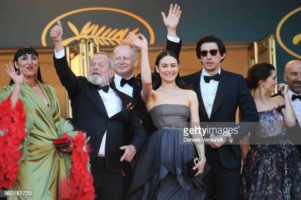 Rossy de Palma Terry Gilliam Stellan Skarsgard Olga Kurylenko Adam Driver and Joana Ribeiro attends the screening of Closing Ceremony 'The Man Who...