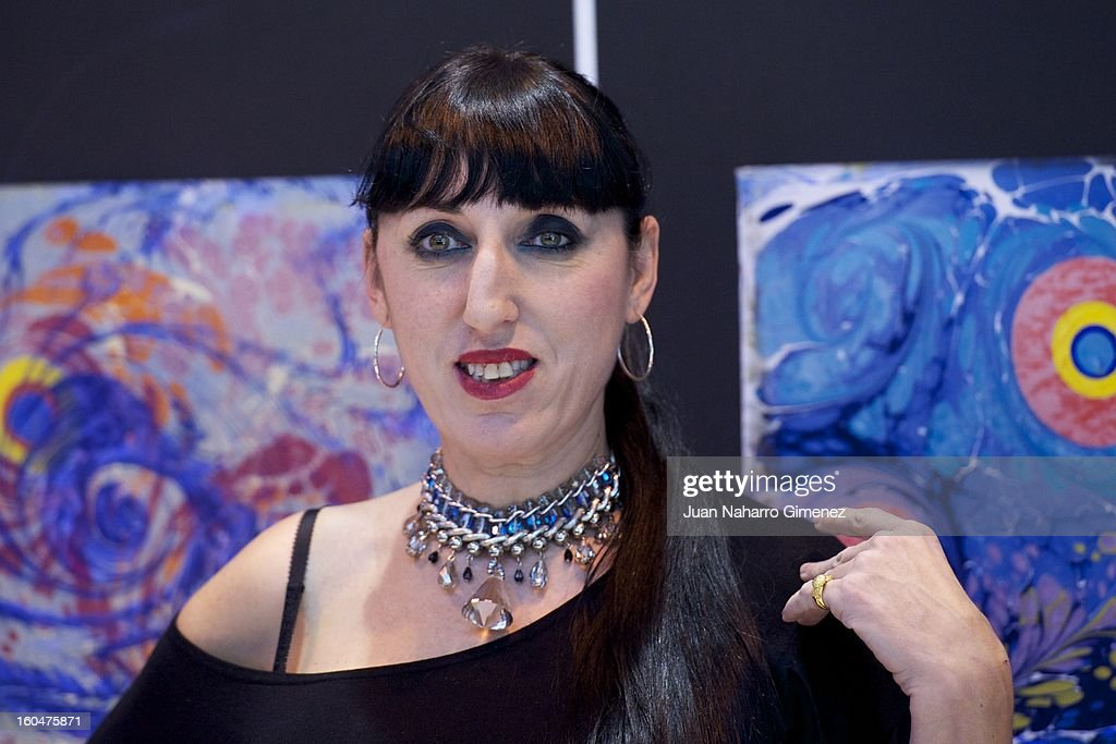 Rossy de Palma visits Turkey stand at FITUR at Ifema on February 1, 2013 in Madrid, Spain.