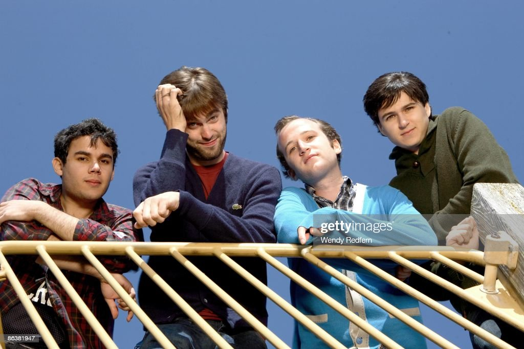 Vampire Weekend Group Shot : News Photo